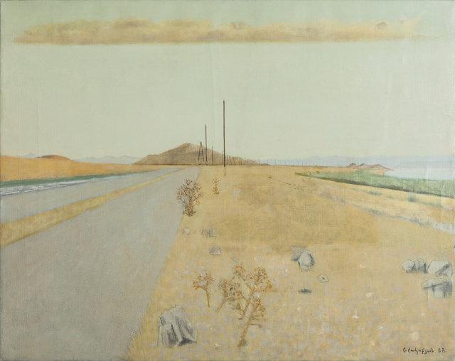 , 'Along the Lake,' 1987, Tufenkian Fine Arts