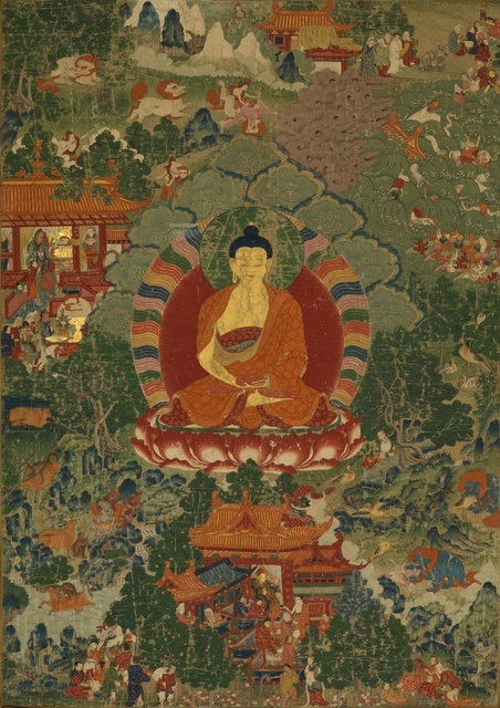 , 'Previous Lives (Jataka) of  Buddha Shakyamuni,' 18th century, Rubin Museum of Art