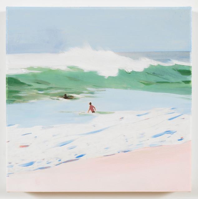 , 'Green Wave,' 2018, Berggruen Gallery