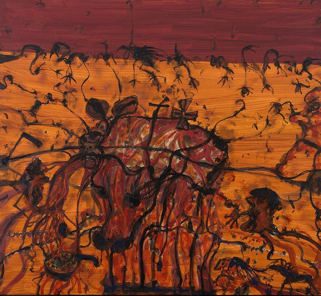 , 'The BBQ,' 2010, OLSEN GALLERY