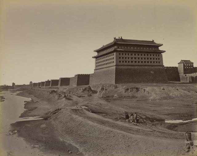 , 'South gate Pekin ,' 1879, Musée national des arts asiatiques - Guimet