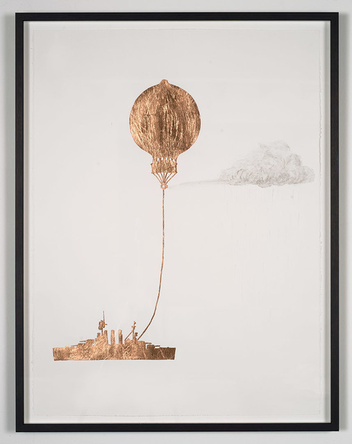 , 'Tethered Marine Balloon Particle Injector,' 2014, Roslyn Oxley9 Gallery