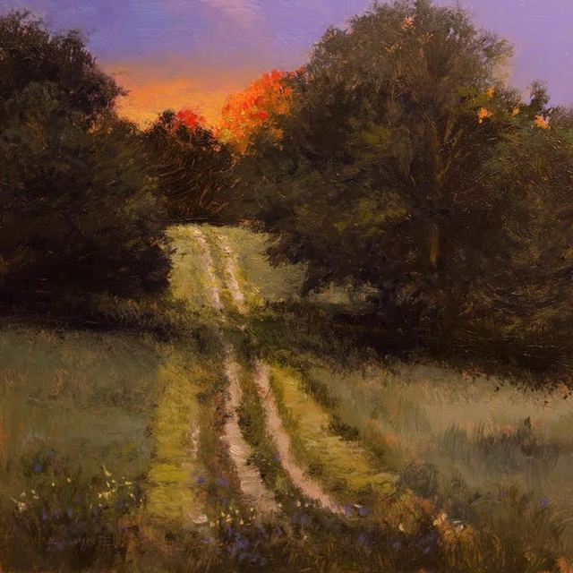 , 'Up the Hill ,' , Copley Society of Art