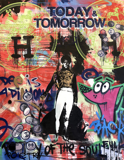, 'Today and Tomorrow King Basquiat ,' 2018, Avant Gallery