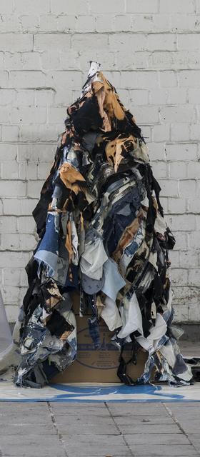 , 'cloak (denim),' 2018, Ruttkowski;68