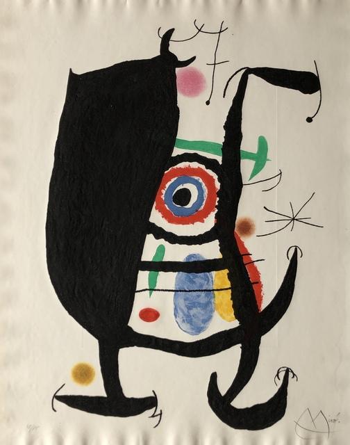 Joan Miró, 'L'Inhibe', 1969, Denis Bloch Fine Art