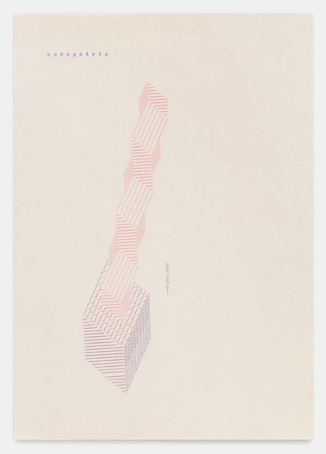 , 'hodegetria 260171,' 1971, Richard Saltoun