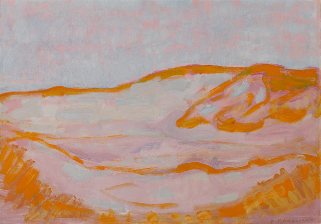 , 'Dune Sketch in Orange, Pink and Blue,' 1909, Turner Contemporary