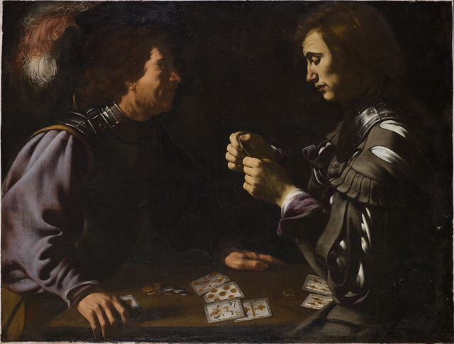 , 'Card Players,' ca. 1615, The National Gallery, London