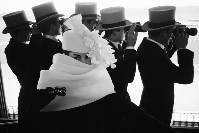 , 'Givenchy Hat C,' 1958, Holden Luntz Gallery