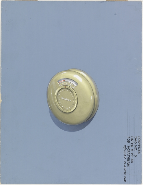 , 'Design for Acratherm Gauge,' 1943, Cooper Hewitt, Smithsonian Design Museum