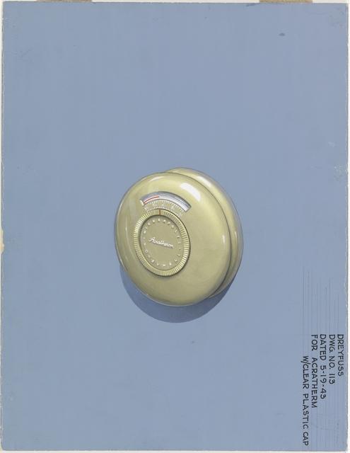 Henry Dreyfuss, 'Design for Acratherm Gauge', 1943, Cooper Hewitt, Smithsonian Design Museum