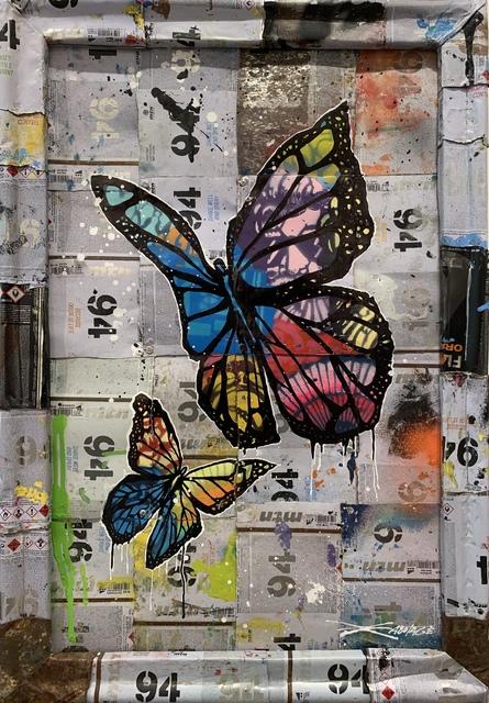 , 'Butterflies,' 2018, Art Supermarket