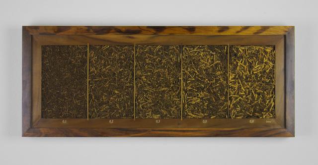 , 'Granulometria Imbúia (Granulometry Imbúia),' 2018, Baró Galeria