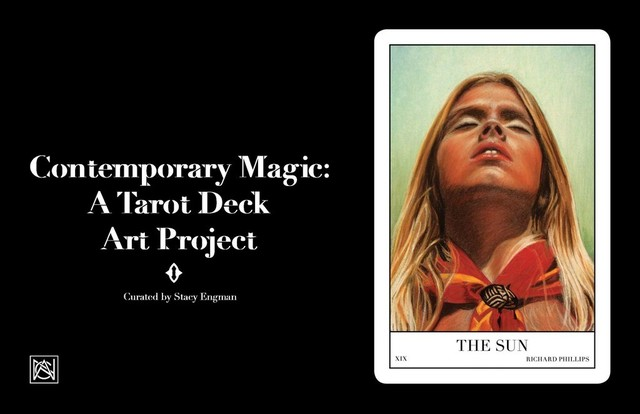 """, 'Full Collection of """"Contemporary Magic: A Tarot Deck Art Project"""" Limited Edition 5th Anniversary Print Collection, Including 78 Framed Prints, 2015,' , ART CAPSUL"""