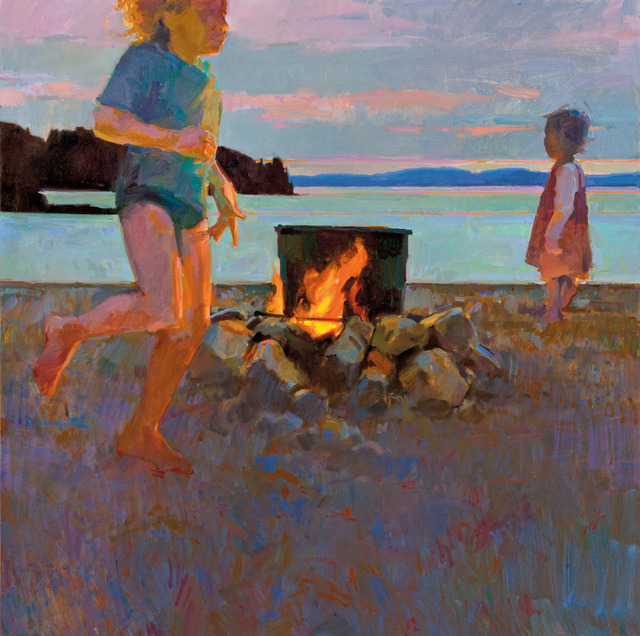 , 'Island Cookout,' , Dowling Walsh