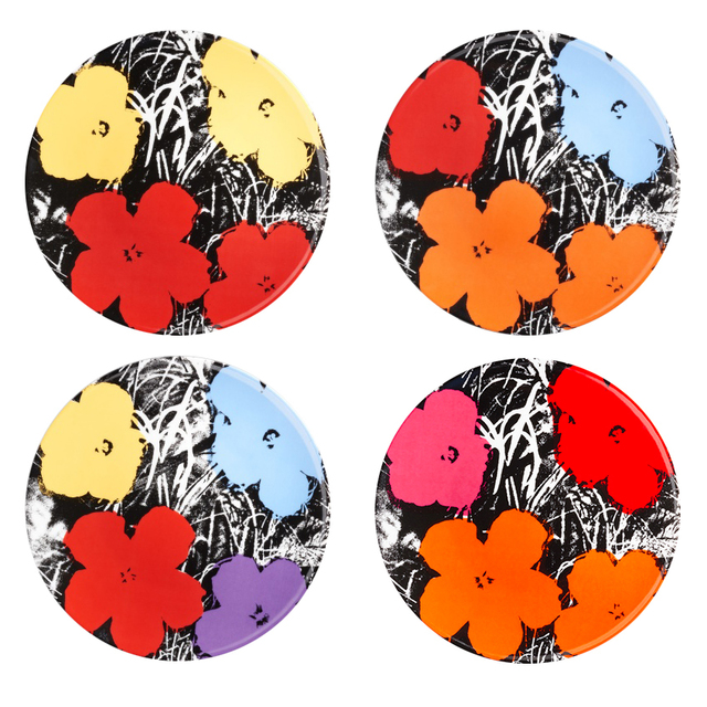 Andy Warhol, 'Flowers Plates by Andy Warhol', 2017, Artware Editions
