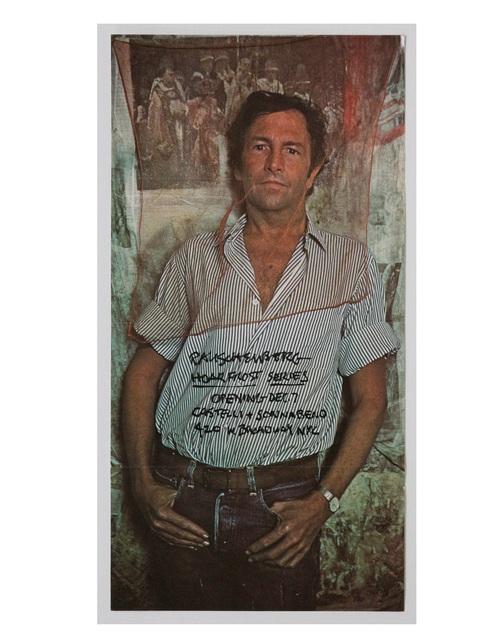 """Robert Rauschenberg, '""""Hoar Frost Series"""", 1974, Exhibition Announcement/Mailer/Poster, Leo Castelli and Sonnabend Galleries ', 1974, VINCE fine arts/ephemera"""