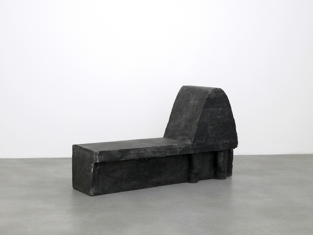 , 'Black Knees,' 2010, SpazioA