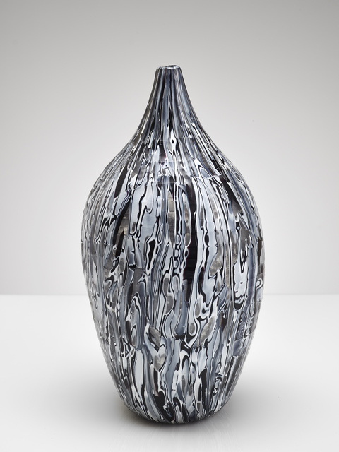 , 'black and white carved,' 2002, Brutto Gusto
