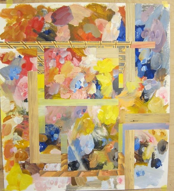 ", '""Study for P – Hostage 6"",' 1988, Galería Juana de Aizpuru"