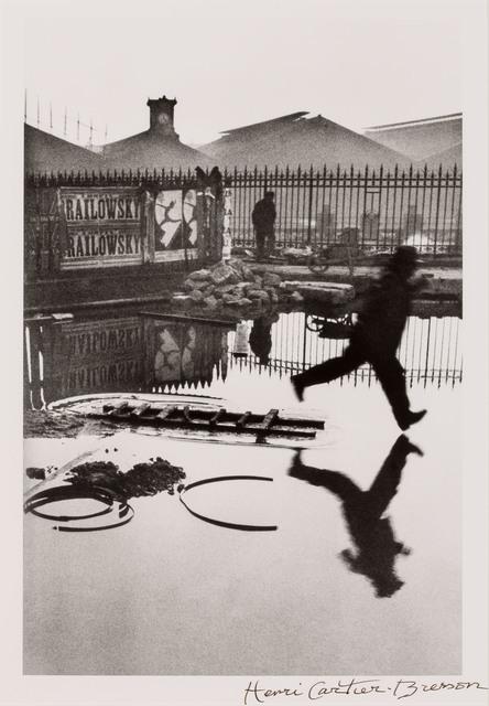 Henri Cartier-Bresson, 'Behind the Gare Saint-Lazare', 1932, Doyle