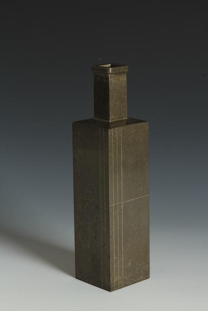 , 'Rectangular Vase (T-3850),' Showa era (1912, 1926), 1960s, 1980s, Erik Thomsen