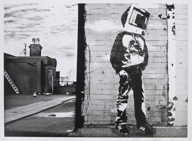 Blek le Rat, 'Computer Head', 2008, Julien's Auctions