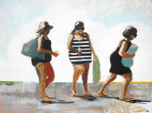 , 'Swim #6,' 2010-2018, Eisenhauer Gallery