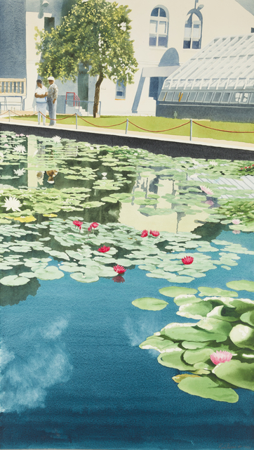 , 'Brooklyn Botanical Garden No. 10: Summer Water Lilies,' 1993, Childs Gallery