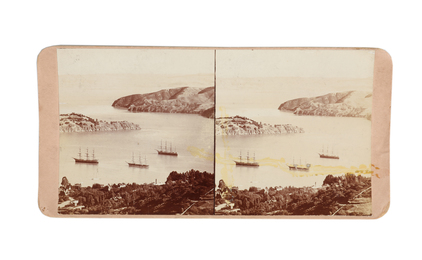 An early collection of Herbert George Ponting's unpublished personal stereo cards (10)