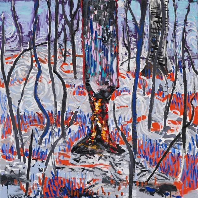 , 'Burned trunk (Troncoquemado),' 2015, Frolov Gallery
