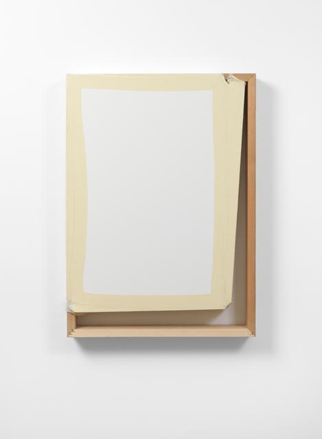 , 'Tight (White/Off White),' 2013, Galerie Thomas Schulte