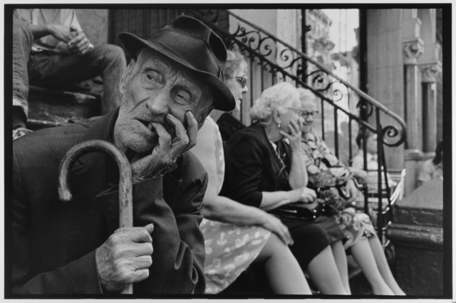, 'Man on stoop with cane  NYC ,' 1972, Gallery 270