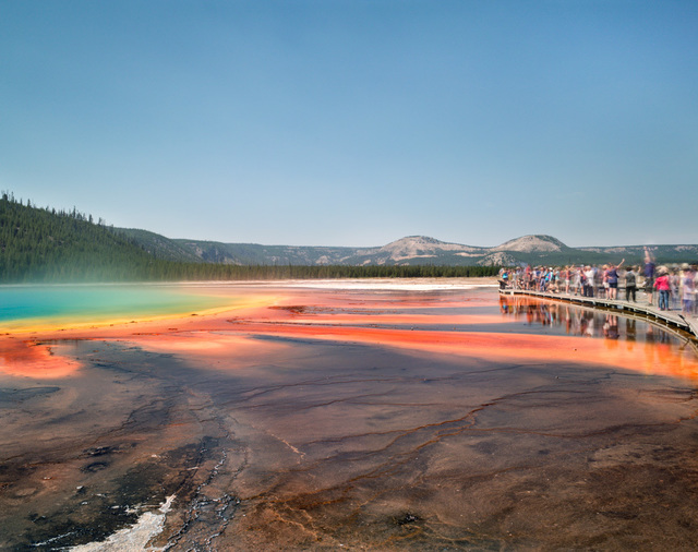 , 'Grand Prismatic Spring, Yellowstone Park,' 2017, Benrubi Gallery