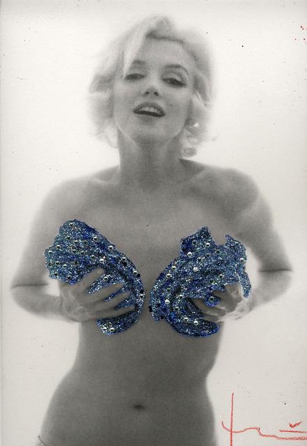 , 'Blue Roses Mardi Gras,' 1962/2013, Anna Laudel