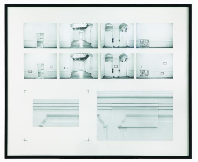 , 'Progetto per la realizzazione della Sovrapposizione alla realtà,' 1973, OSART GALLERY