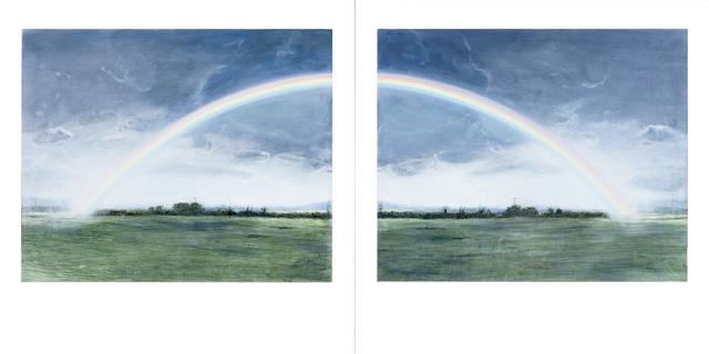 Ellen Harvey, 'Double Rainbow', 2013, Meessen De Clercq