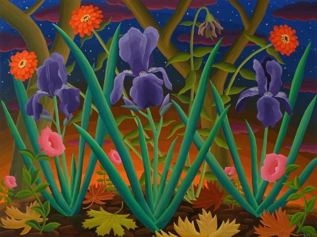 , 'Glendale Garden ,' 2017, Morgan Lehman Gallery