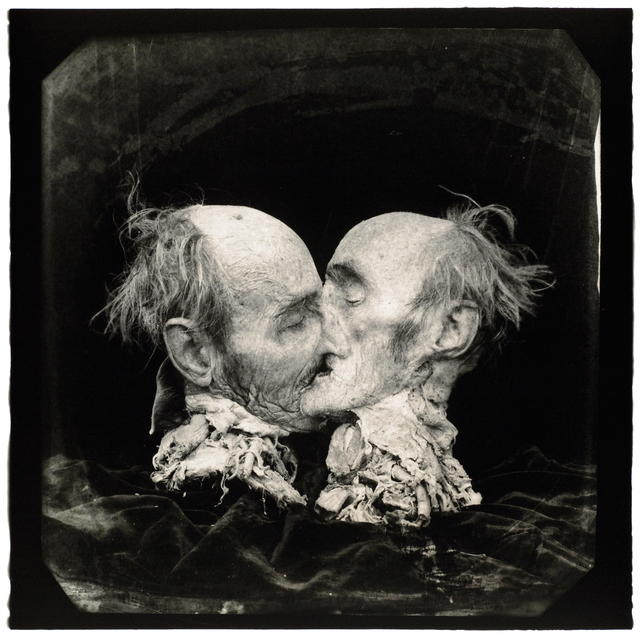 Joel-Peter Witkin, 'The Kiss (Le Baiser) New Mexico', 1982, Etherton Gallery