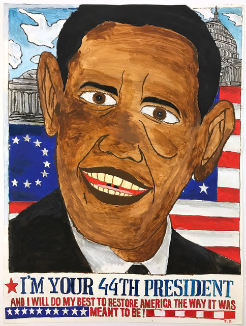 Carlo Daleo, 'Obama', 2008, LAND Studio & Gallery/Shelter