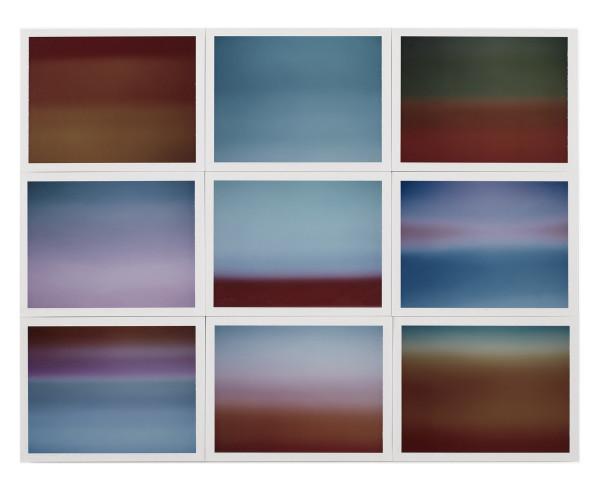 , 'Horizon, étude couleur #5,' 2015, Galerie Thierry Bigaignon