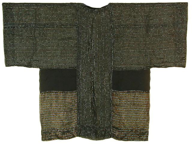Chant Avedissian, 'Siwa inspired cut, black transparent cotton with shinny threads', 1988, Sabrina Amrani