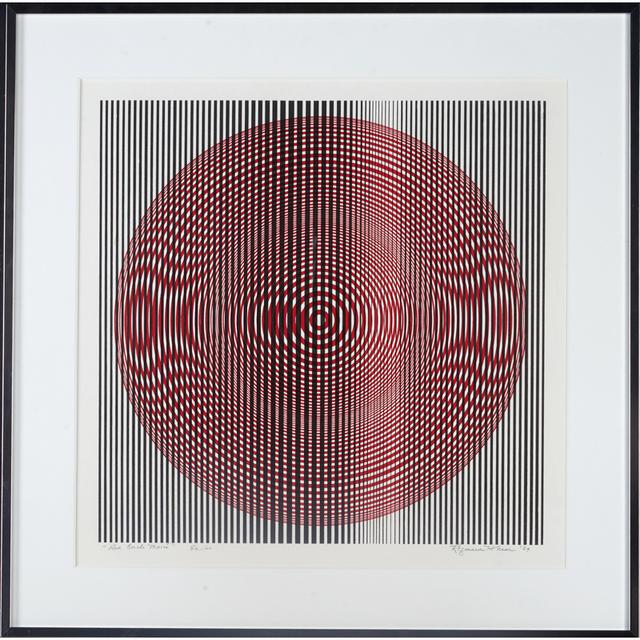 "Reginald Neal, '""Red Circle Moiré,"" Edition Of 60, USA', 1969, Rago/Wright"