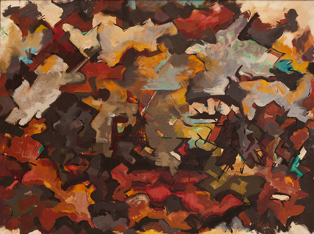 , 'Abstract Expressionist Landscape (With Clouds),' 1951, Hollis Taggart