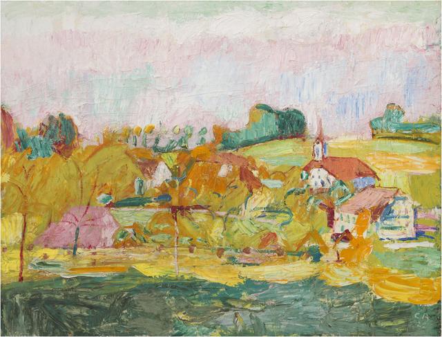 , 'Herbst auf der Oschwand,' 1922, bromer kunst
