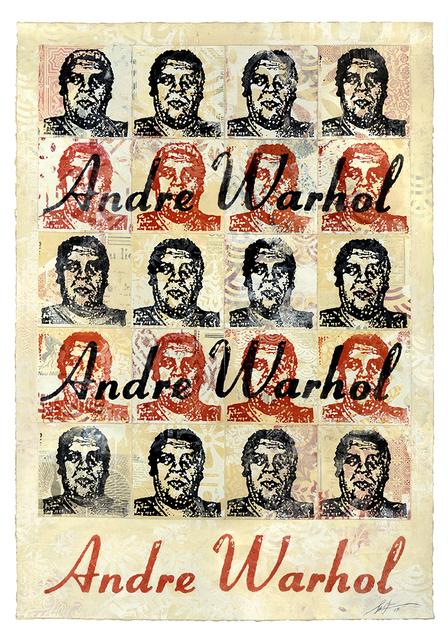 Shepard Fairey, 'Andre Warhol (Cream)', 2019, Gastman