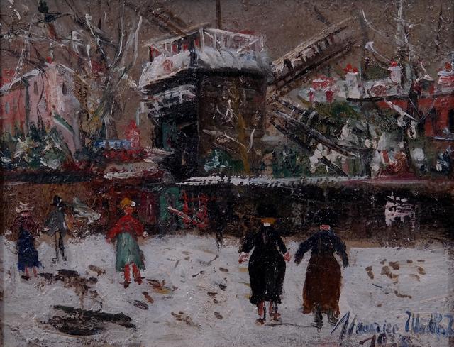 , 'Montmartre,' 1935, Maurício Pontual Galeria de Arte