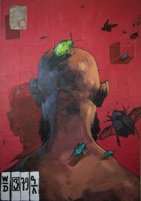 """, '""""Quo Vadis"""" 2,' 2017, Kristin Hjellegjerde Gallery"""