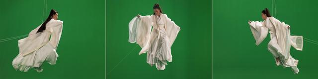 , 'Green Screen Goddess, Triptych (Ten Thousand Waves),' 2010, Galerie Forsblom